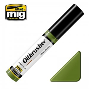 AMMO MIG 3505 OILBRUSHERS OLIVE GREEN