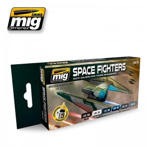 AMMO MIG 7131 FARBY SPACE FIGHTERS SCI-FI COLORS