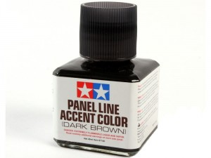 Tamiya 87140 Panel Accent Color D Brown