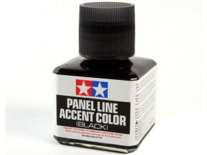 Tamiya 87131 Panel Accent Color Black