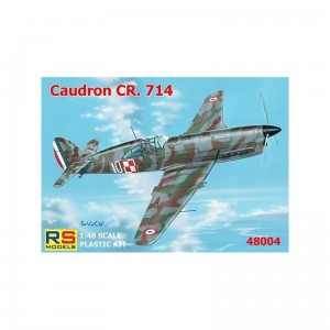 Rs Models 48004 Caudron Cr.714 C-1 1/48