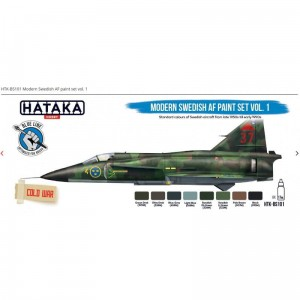 Hataka BS101 Modern Swedish AF Paint Set Vol. 1