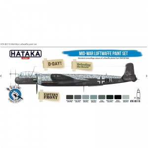 Hataka BS110 Mid-War Luftwaffe Paint Set