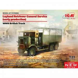 ICM 35602 Leyland Retriever General Service (early production), WWII British Truck