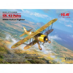 ICM 32020 CR. 42 Falco, WWII Italian Fighter