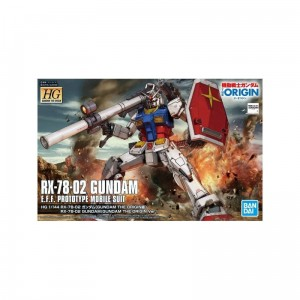 Bandai 58929 HG 1/144 RX-78-02 GUNDAM (GUNDAM THE ORIGIN Ver.) GUN58929 No Box [  ]