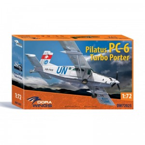 Dora Wings 72025 Pilatus PC-6 Turbo Porter