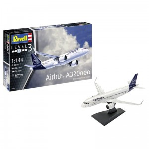Revell 63942 Model Set 1/144  Airbus A320 Neo Lufthansa