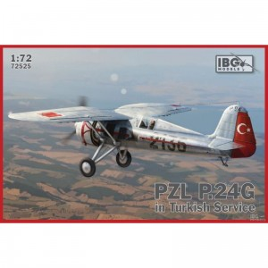 IBG 72525 1/72 PZL P.24G in Turkish Service