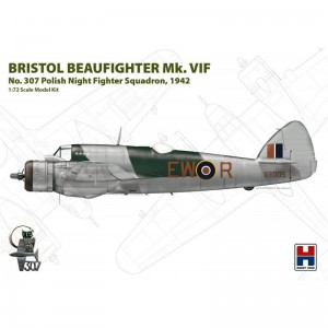 Hobby 2000 72003 Beaufighter Mk. VIF 307 Polish Sq