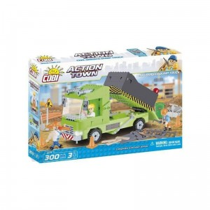 Cobi 1677 Action Town Civil Service Dump Truck 300