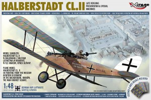 Mirage 481405 HALBERSTADT CL.II Late Versions, Presentation & Special Machines