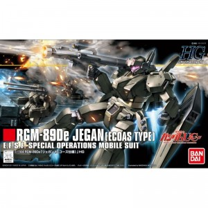 Bandai 69491 HGUC 1/144 RGM-89De JEGAN (ECOAS TYPE) GUN83396  No box [ ]