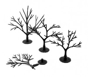 Woodland WTR1122  3-5In. Tree Armatures