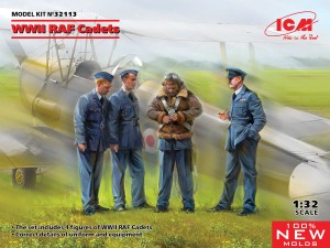 ICM 32113 WWII RAF Cadets (100% new molds)
