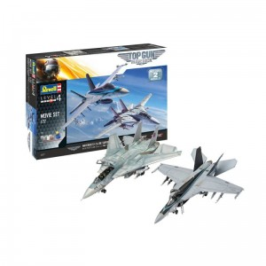 Revell 05677 F-14   F/A-18E Top Gun 2 Movie Set