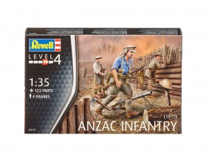 REVELL 02618 - 1/35 ANZAC INFANTRY 1915