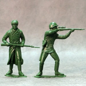ARK 80004 -  Red Army set #1 2 figurki 15cm