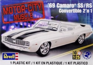 MONOGRAM 4929 - 1/25 '69 CAMARO CONVERTIBLE