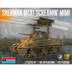MONOGRAM 7863 - 1/35 SHERMAN M4A1 SCREAMIN