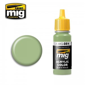 AMMO MIG 0051 LIGHT GREEN KHV-553M - AMIG0051