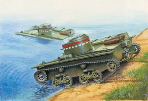 EE 35002 - 1/35 T-38 Russian amphibious small tank