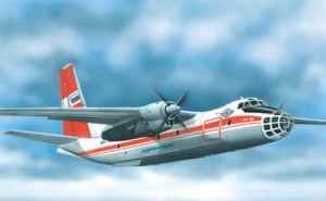 EE 28803 - 1/288 Antonov An-30 Russian photo-mappi