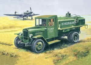 EE 35154 - 1/35 ZiS-5V BZ Russian fuelling vehicle