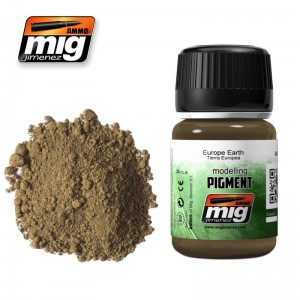 AMMO MIG 3004 PIGMENT W PROSZKU EUROPE EARTH