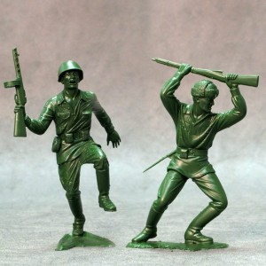 ARK 80005 -  Red Army set #2 2 figurki 15cm