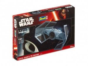 REVELL 03602 - 1/121 DARTH VADER'S TIE FIGHTER