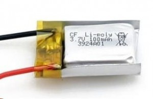 100mAh 3.7V LiPo do Syma S5-14