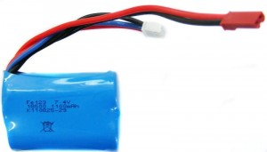 1100mAh 7.4V Li-Ion JST do Double Horse 7012