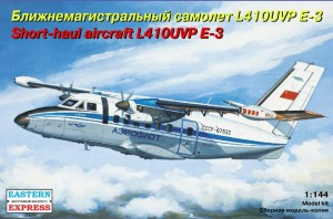 EE 144100 - 1/144 Let L-410UVP E3 short-haul