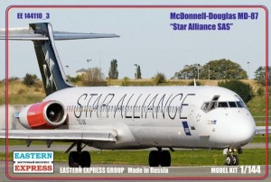 EE 144110-3 - 1/144 McDonnel-Douglas MD-87 Star Al