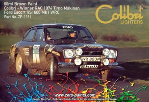 ZERO PAINTS 1351 - Brown Ford Escort MKI RS1 60ml