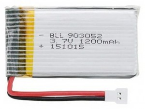 1200mAh 3.7V LiPo Molex/Walkera do Syma X5S