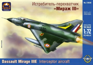 "ARK 72030 - 1/72 Dassault ""Mirage"" IIIE French"