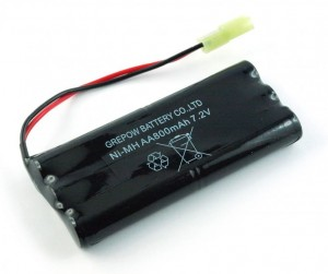 800mAh 7.2V NiMH Mini Tamiya do Hobby Engine