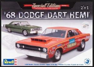 MONOGRAM 4217 - 1/25 '68 DODGE HEMI DART 2 IN 1