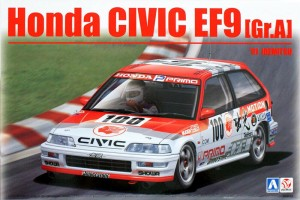 BEEMAX 24018 - 1/24   Honda Civic EF9 Group A