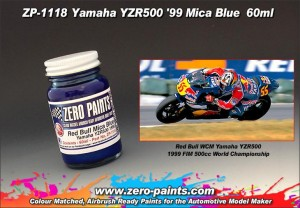 ZERO PAINTS 1118 Yamaha YZR500 '99 (Red Bull) Blue