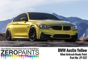 ZERO PAINTS 1127 - BMW Austin Yellow 60ml