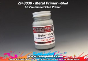 ZERO PAINTS 3030 - PODKŁAD Metal Primer 60ml