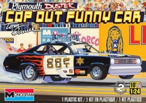 MONOGRAM 4093 - 1/24 Plymounth Duster Cop-Out