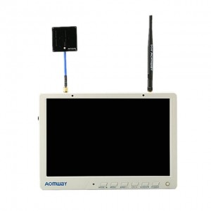 "Monitor FPV Aomway HD588 Diversity (10.1"", 1200p, 5.8GHz, 40CH, RaceBand)"