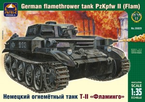 "ARK 35029 - 1/35 ""Flamm"" Pz.Kpfw.II German flameth"