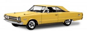 MONOGRAM 4481 - 1/25 '67 PLYMOUTH GTX