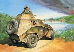 EE 35007 - 1/35 BA-64B Russian light armored car