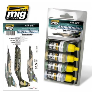 AMMO MIG 7206 FARBY ARGENTINIAN COLORS VOL.1 ALSO